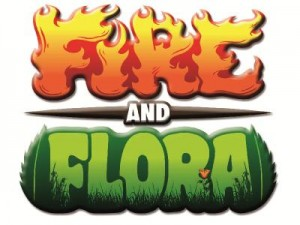 Fire and Flora title graphic